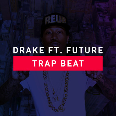 trap beat drake ft. future artwork