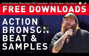 Free Hip Hop Beat - Action Bronson Blue Chips 7000