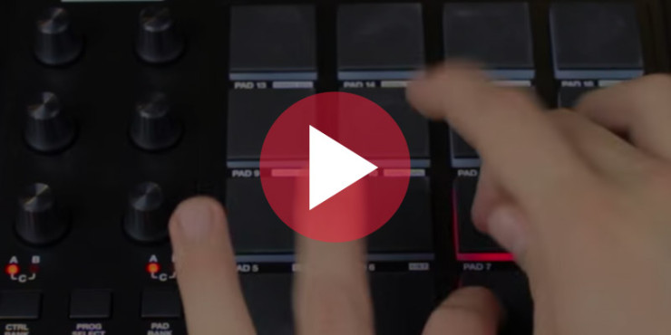 akai mpd cheap light drum machine review