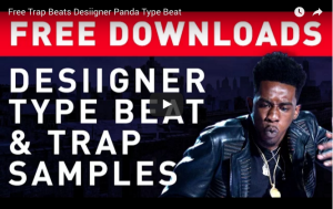 free desiigner sample pack trap samples