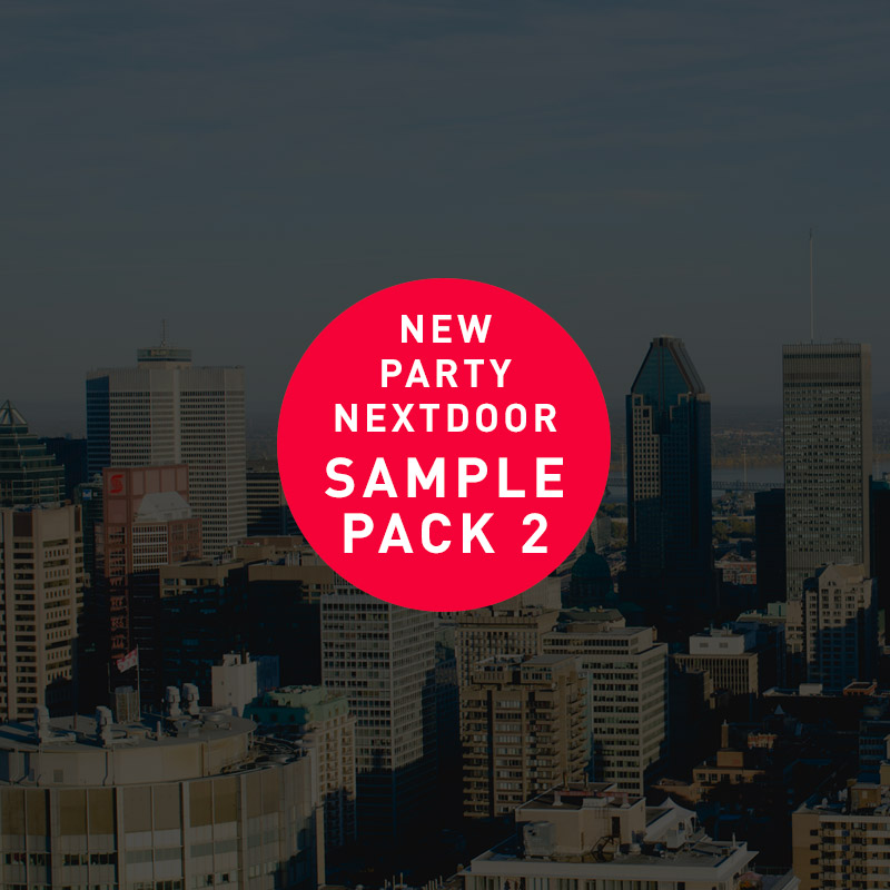 Free PartyNextDoor Sample Pack Vol.2 – Free R&B Sample Pack