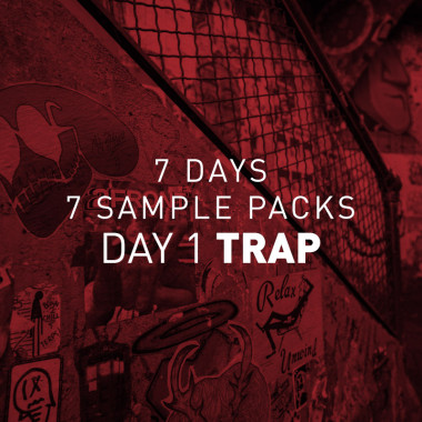 7 Days 7 Free Sample Packs Day 1 Trap Artwork