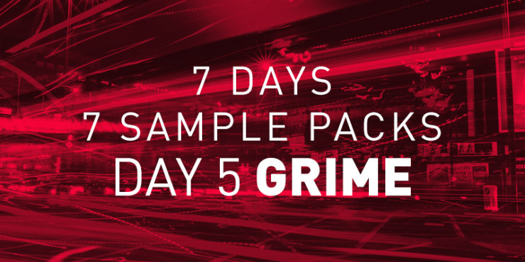 free grime sample pack artwork