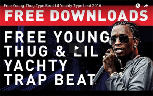 free young thug beat youtube