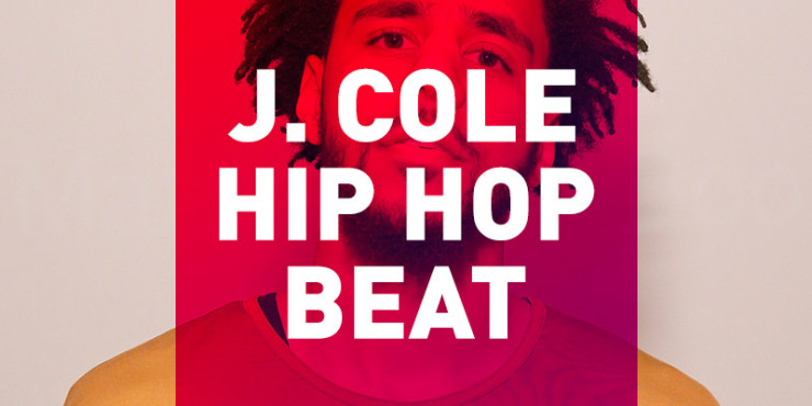 free j. cole hip hop beat artwork