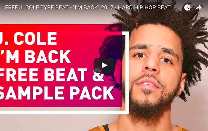j cole hip hop beat video