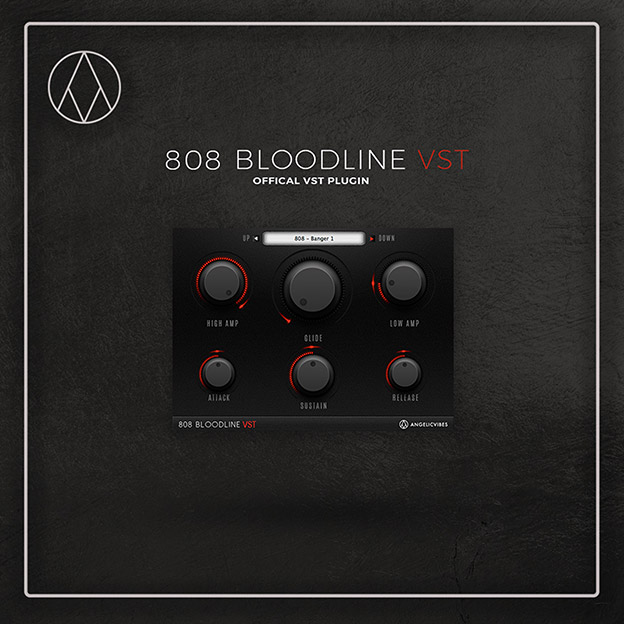 Bloodline 808 VST plugin Artwork