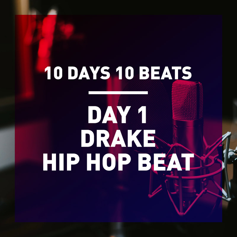 10 Day 10 Beat Series – Day 1 Drake Type Beat + Splice Coupon Code 2 Month Free