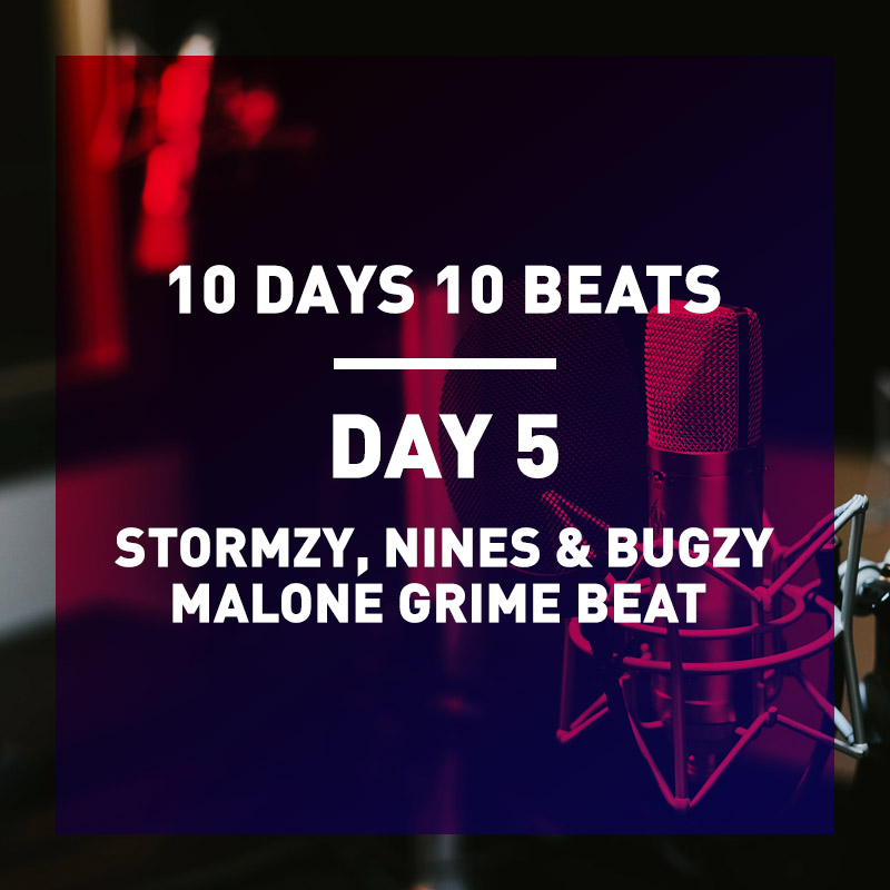 Day 5 Stromzy X Nines X Bugzy Malone Type Grime Beat + Splice Discount Code Free for 1 Month 2021