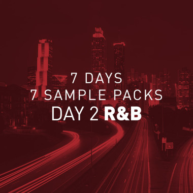 R&B samples free sample pack artwork