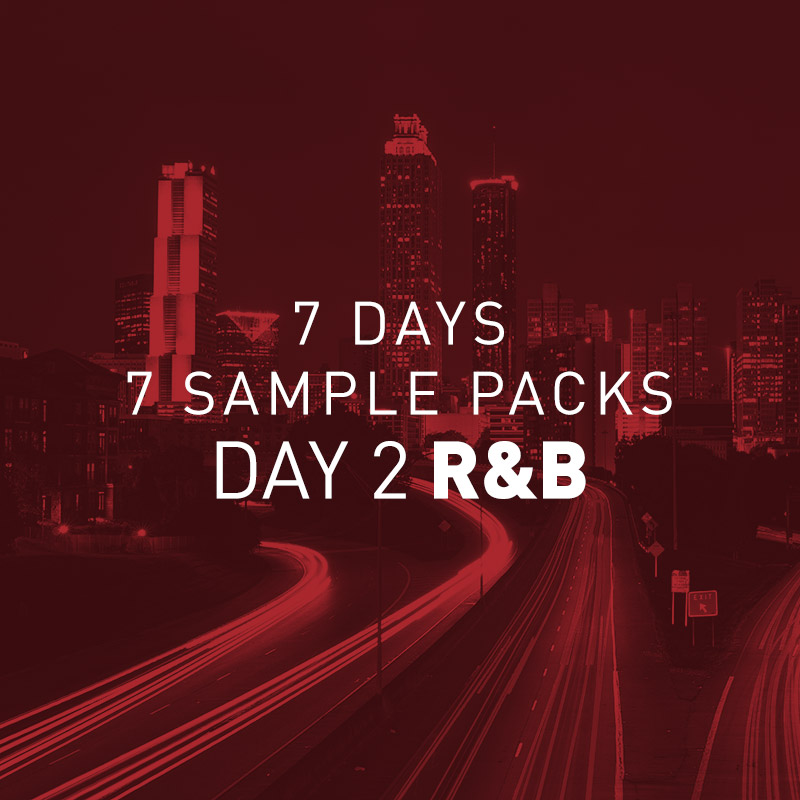 7 Days 7 Free Sample Packs – Day 2 R&B Samples Pack